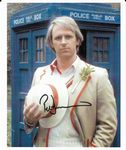 PETER DAVISON  5th Doctor DOCTOR WHO - Genuine Signed Autograph 10X8 COA 11275